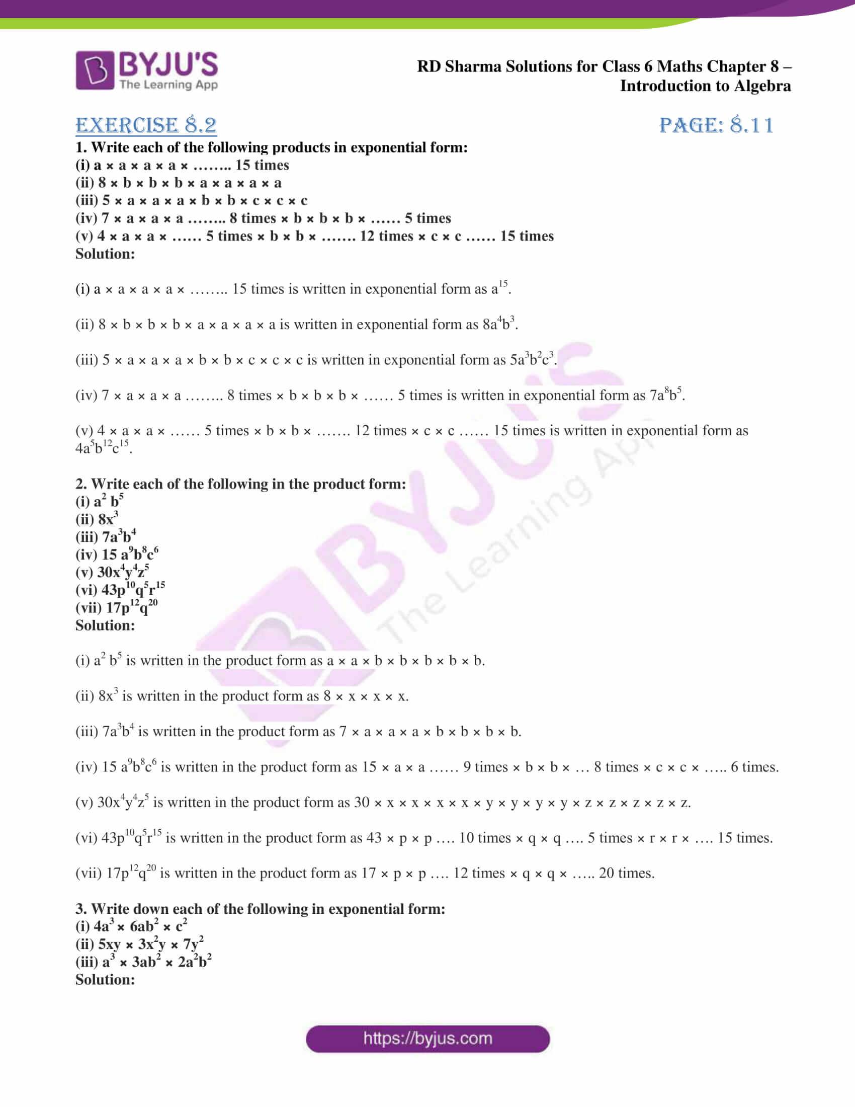 rd sharma class 6 maths solutions chapter 8 ex 2 1