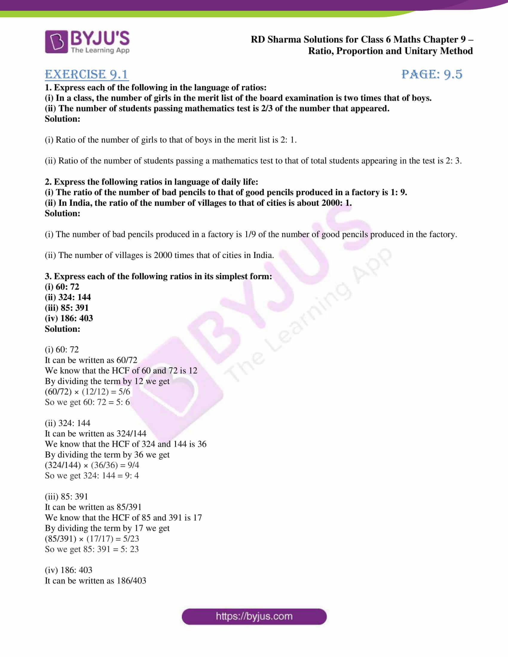 rd sharma class 6 maths solutions chapter 9 ex 1 1
