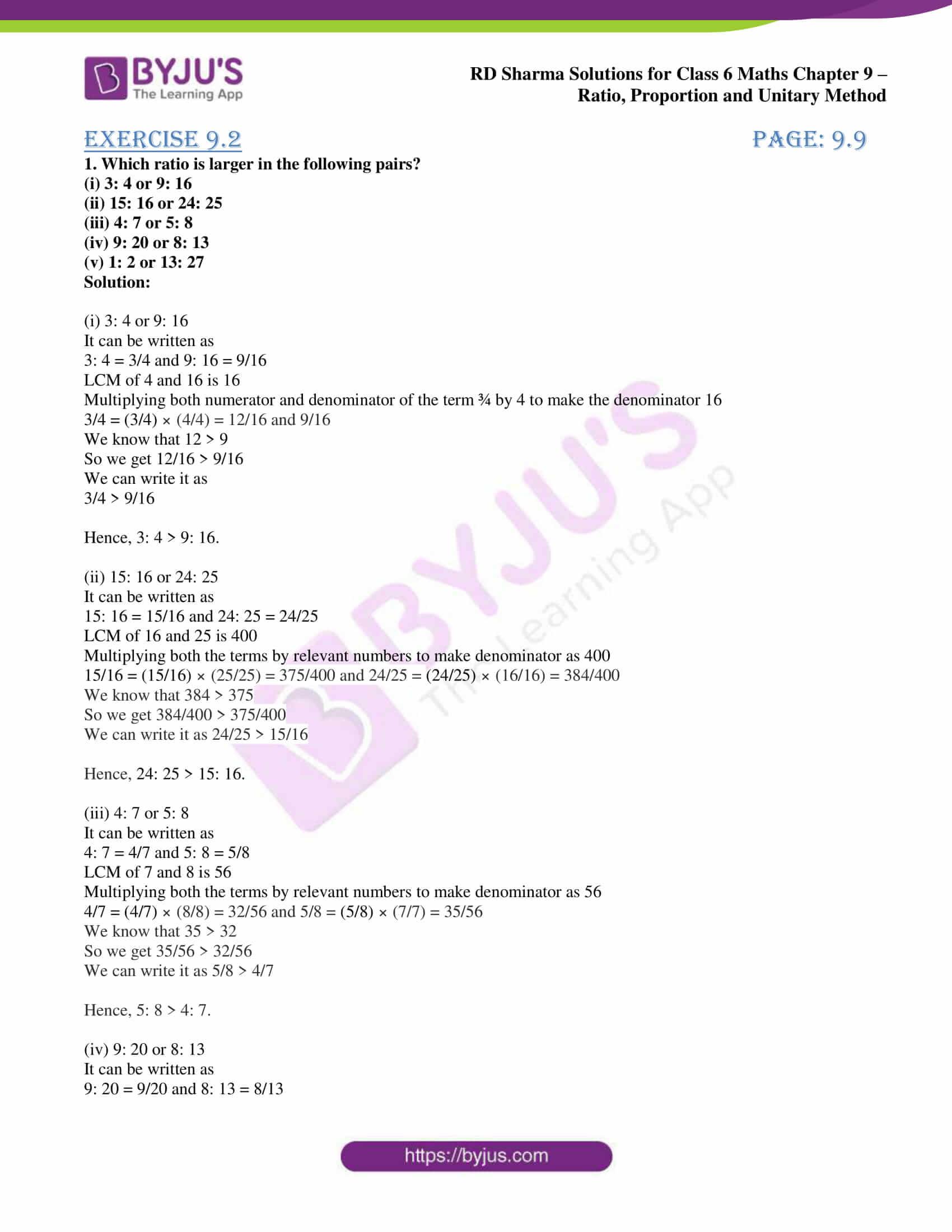 rd sharma class 6 maths solutions chapter 9 ex 2 1