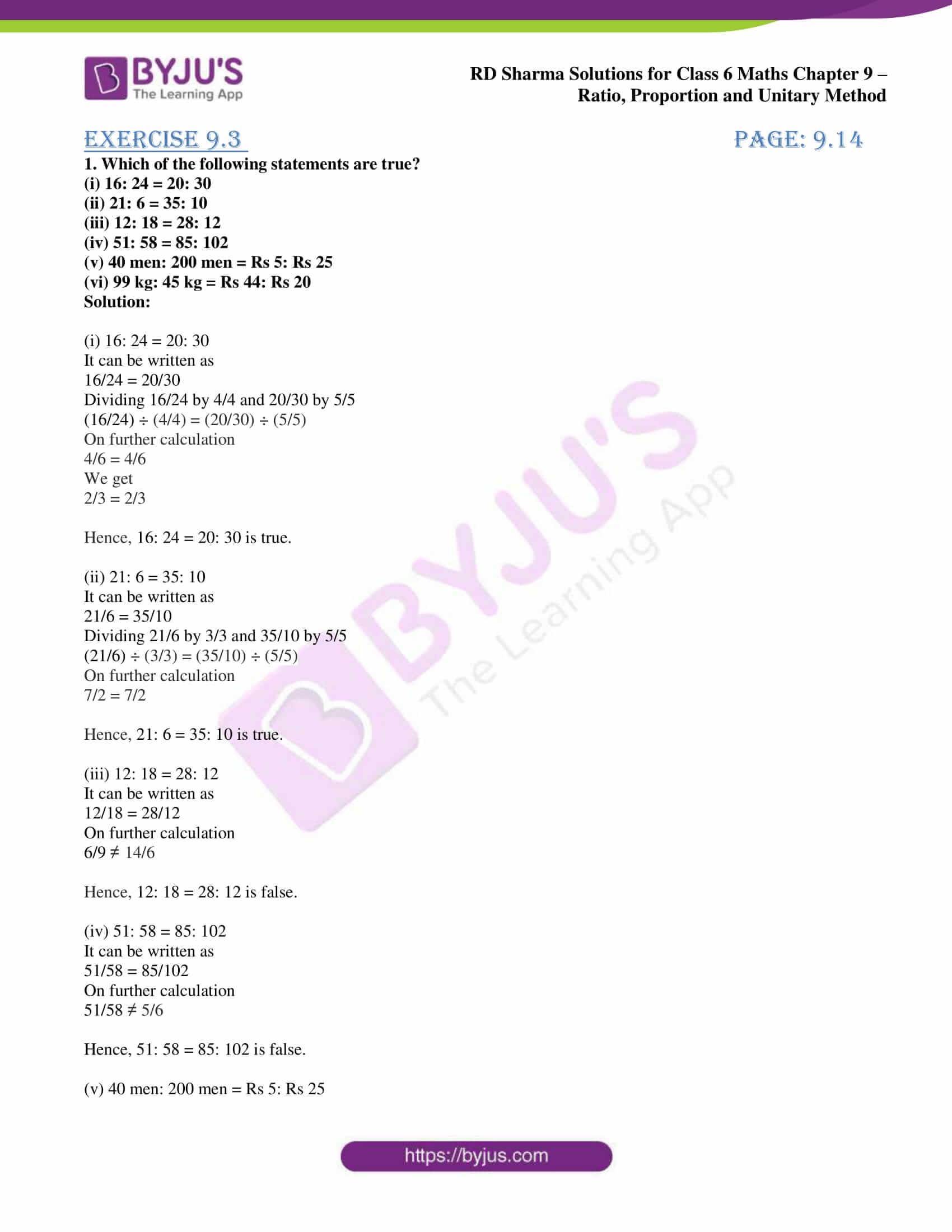 rd sharma class 6 maths solutions chapter 9 ex 3 1