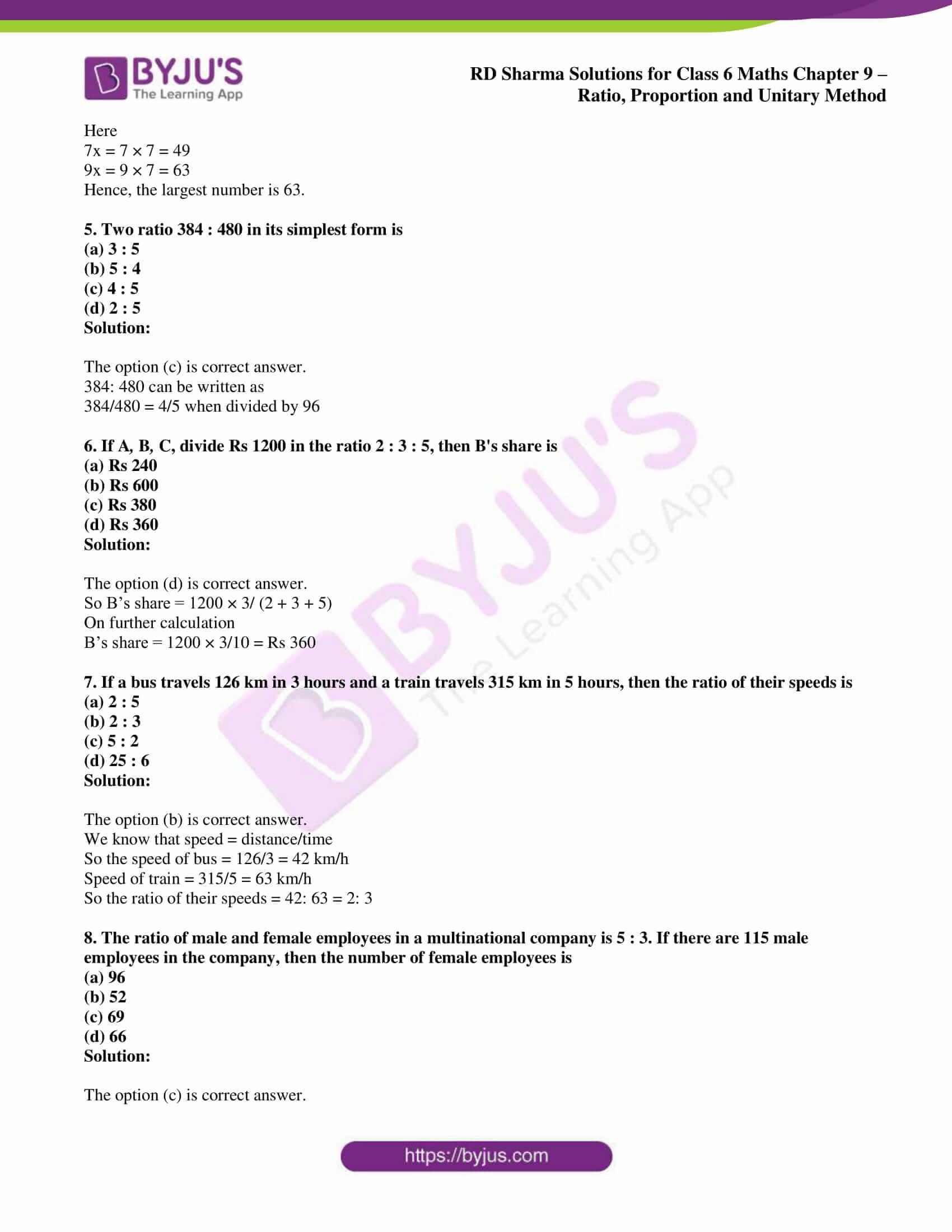 rd sharma class 6 maths solutions chapter 9 obj 2