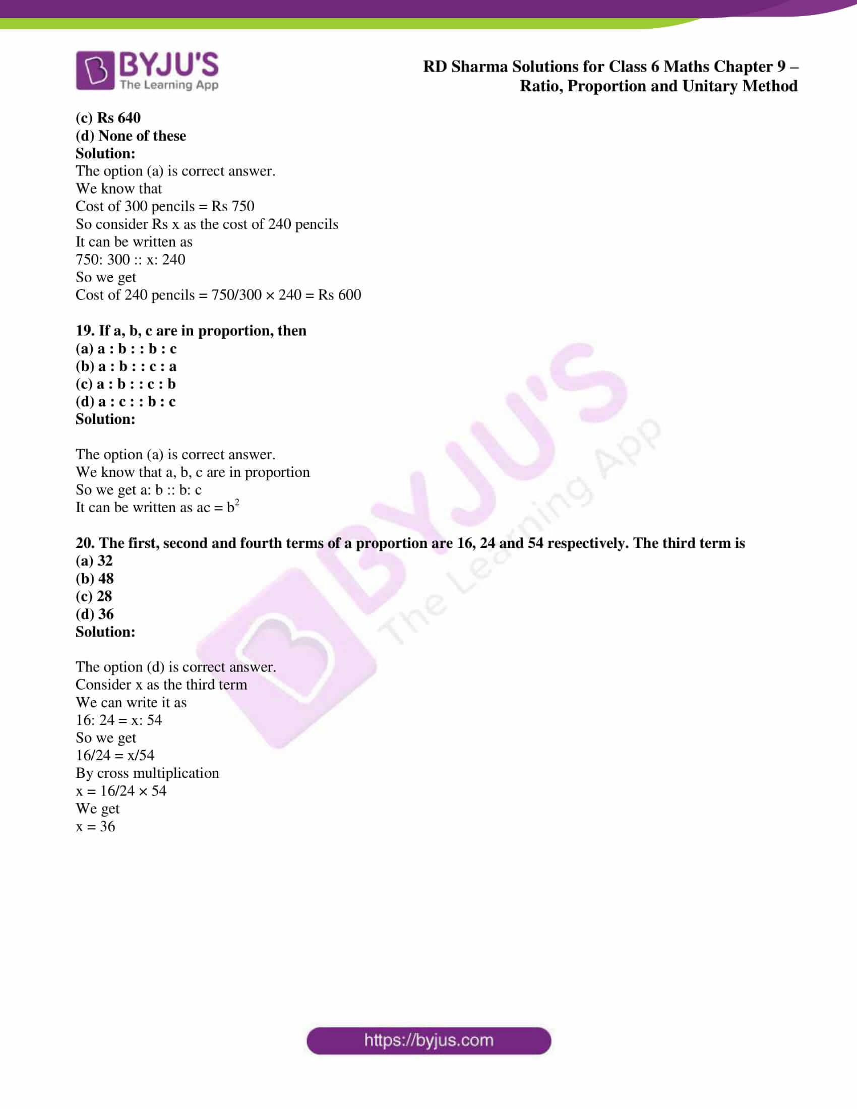 rd sharma class 6 maths solutions chapter 9 obj 6