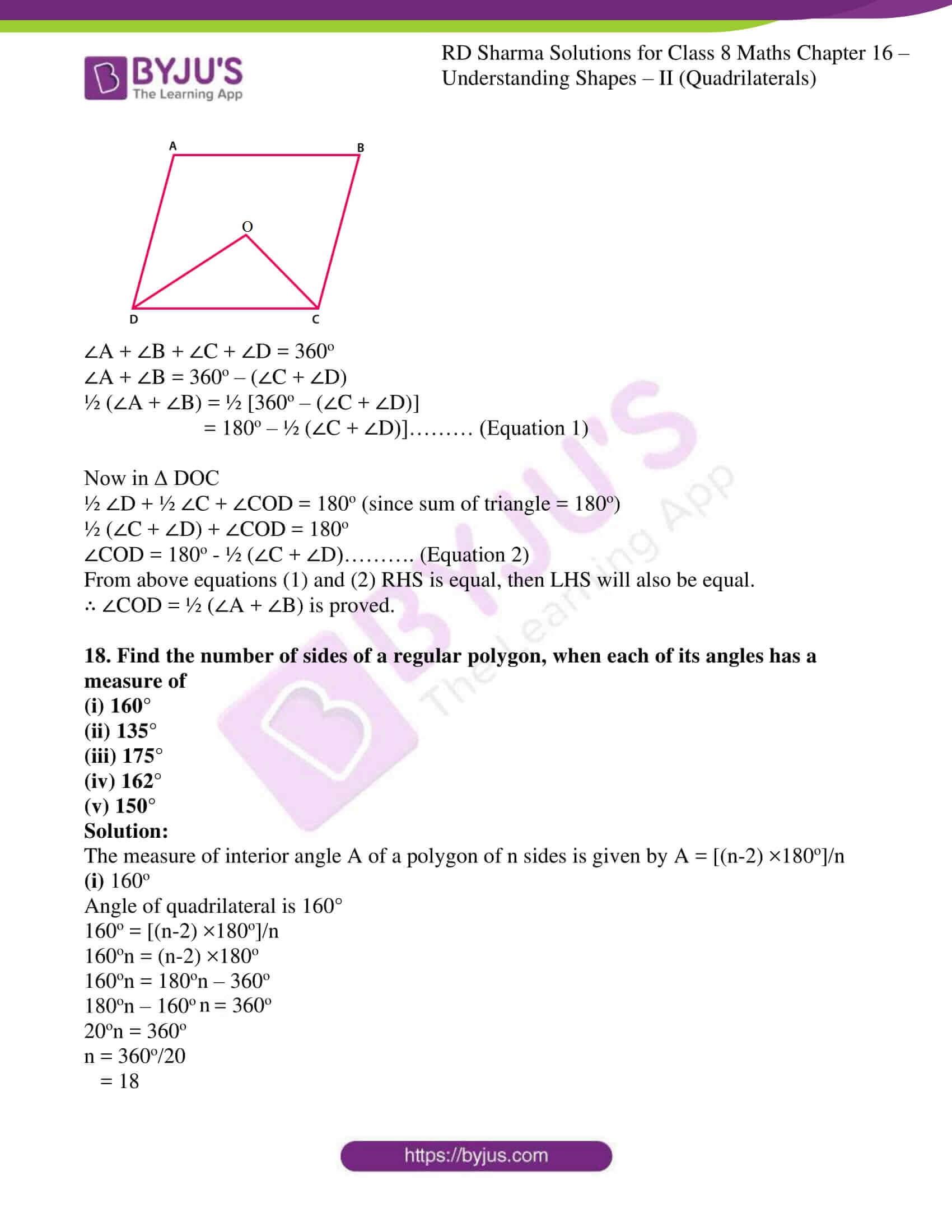 rd sharma class 8 maths chapter 16