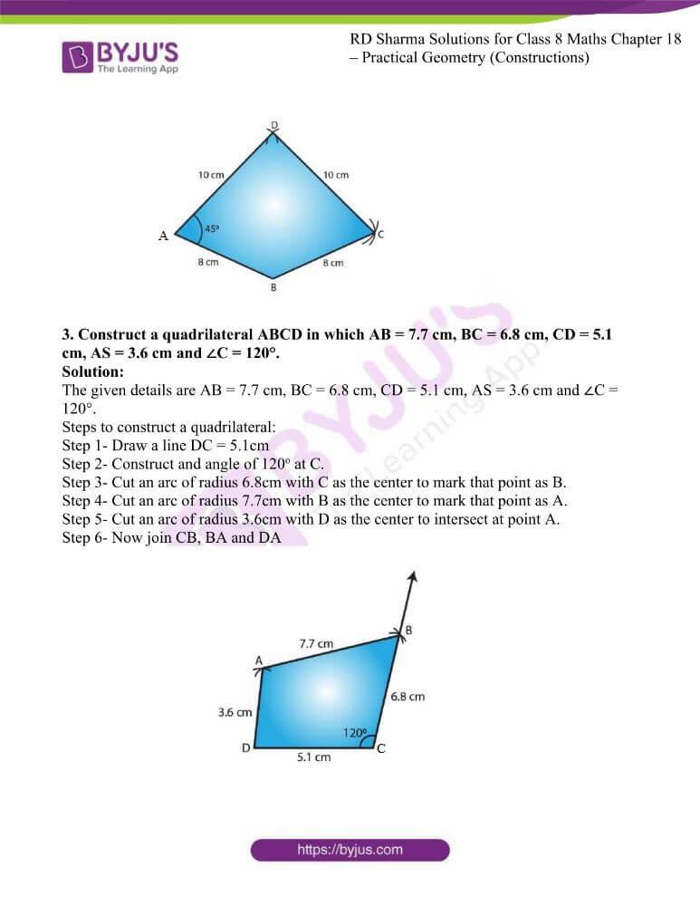 rd sharma class 8 maths chapter 18 ex 3