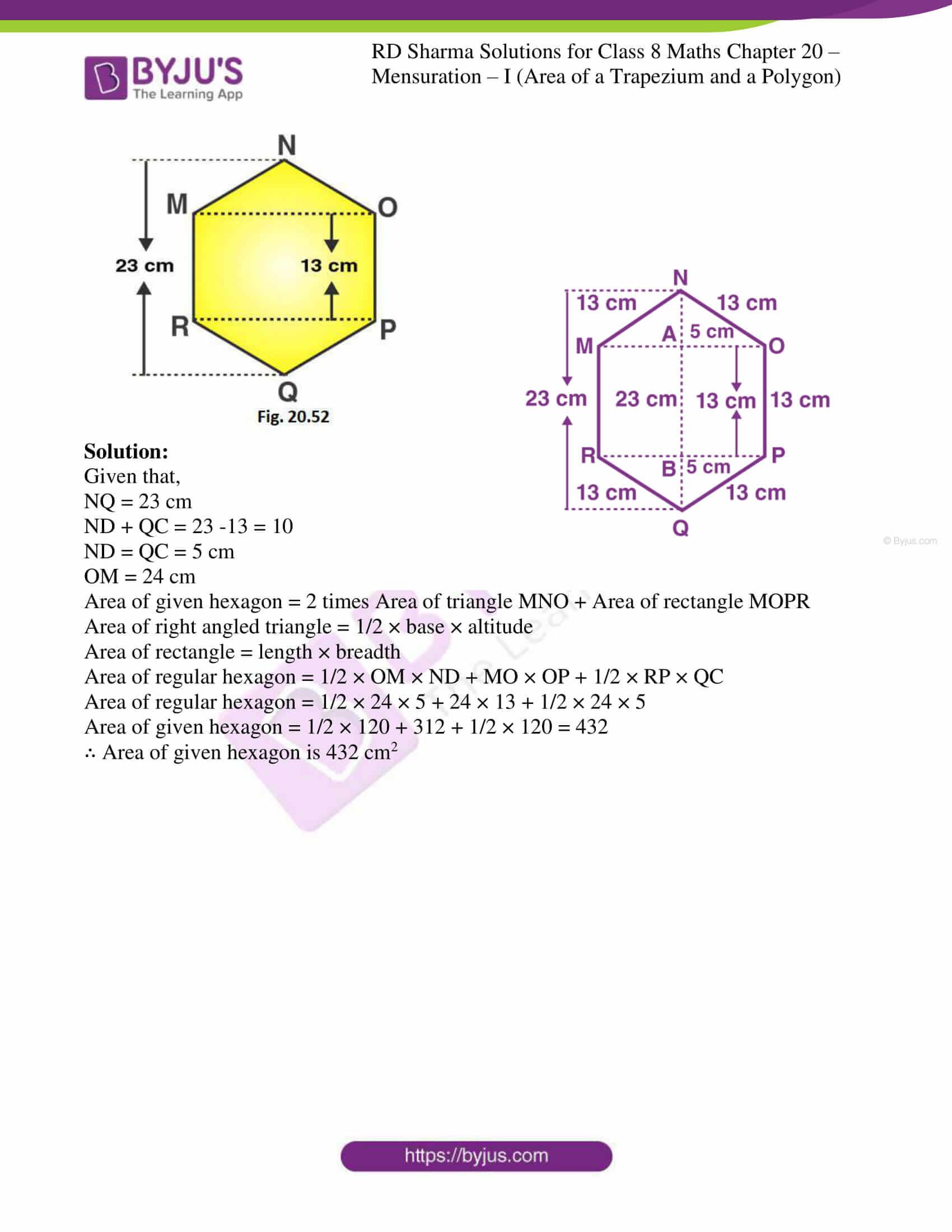 rd sharma class 8 maths chapter 20 ex 3