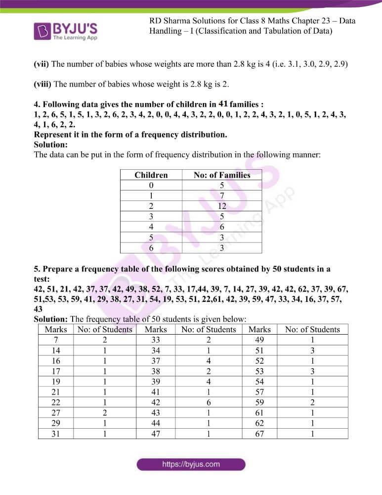rd sharma class 8 maths chapter 23 ex 1