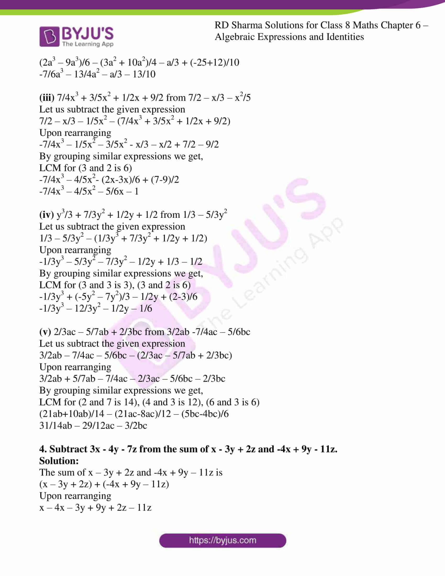 rd sharma class 8 maths chapter 6 exercise 2 5