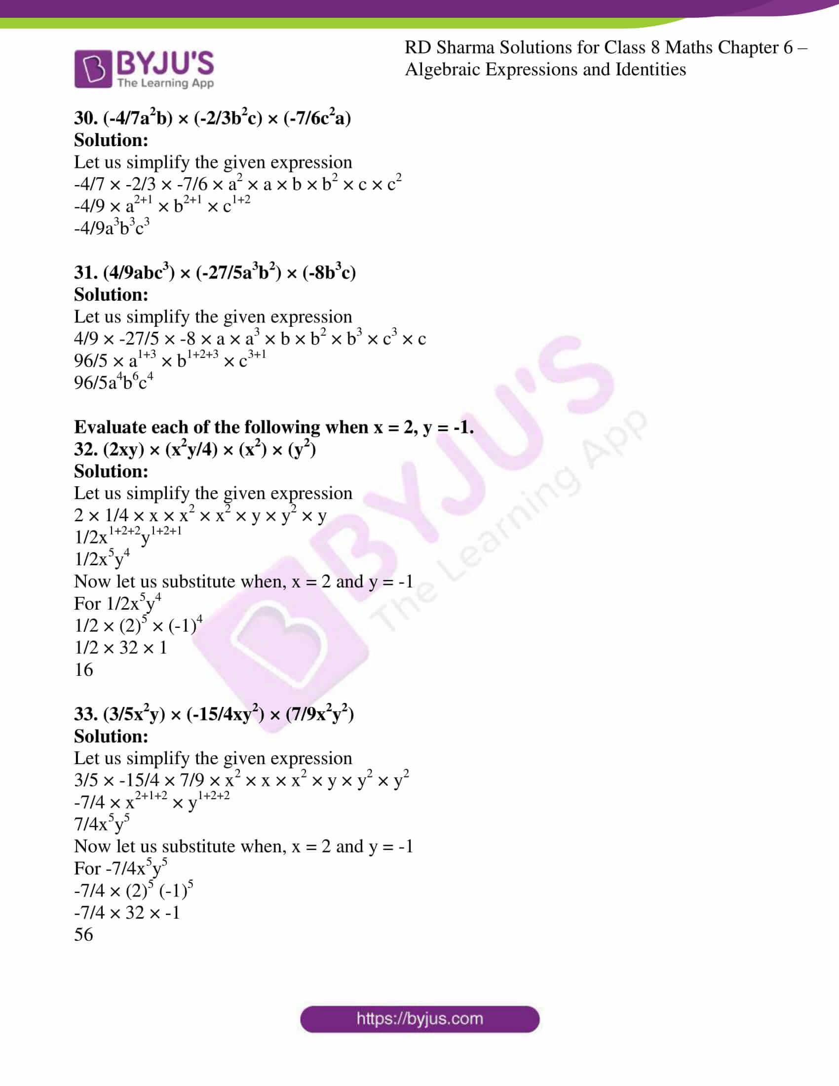 rd sharma class 8 maths chapter 6 exercise 3 8