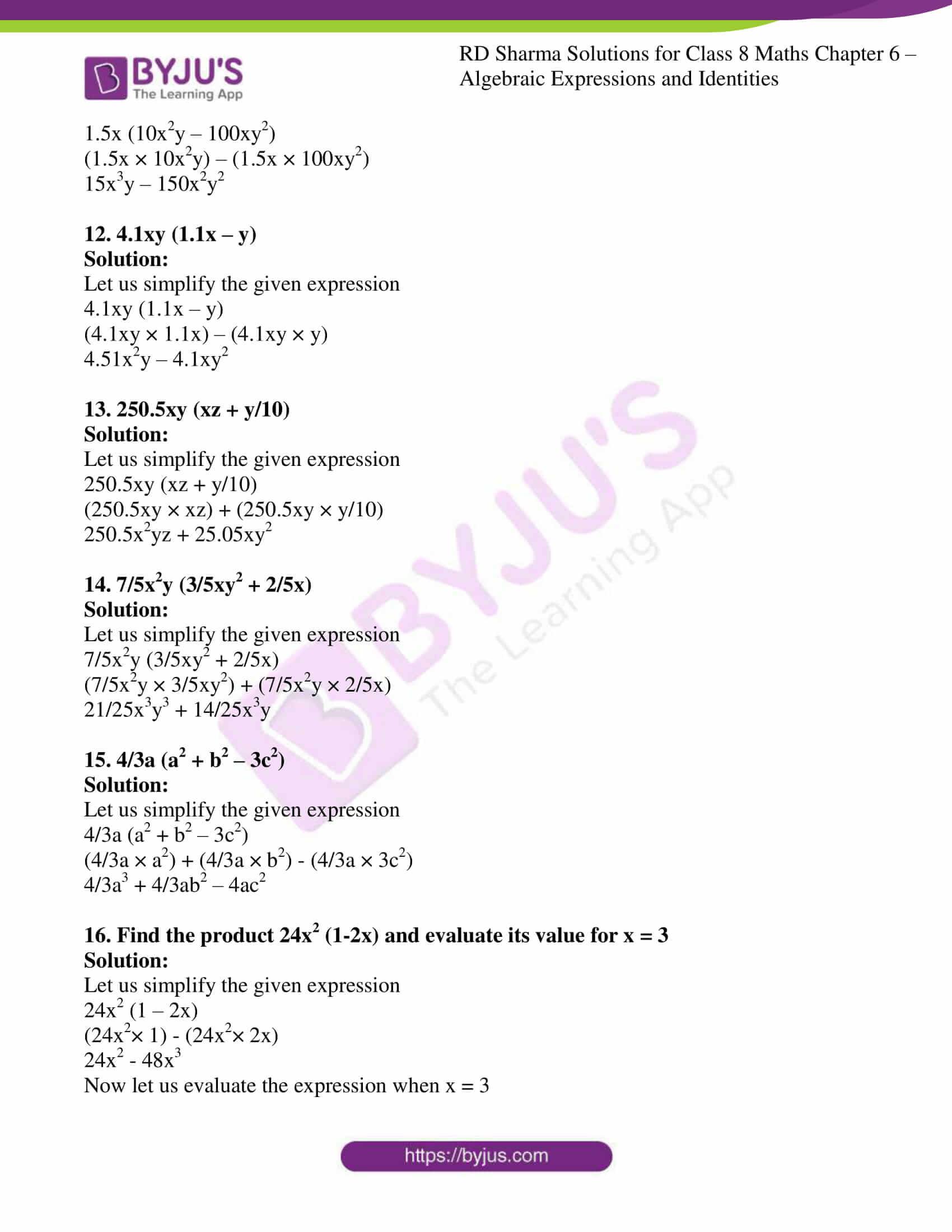 rd sharma class 8 maths chapter 6 exercise 4 3