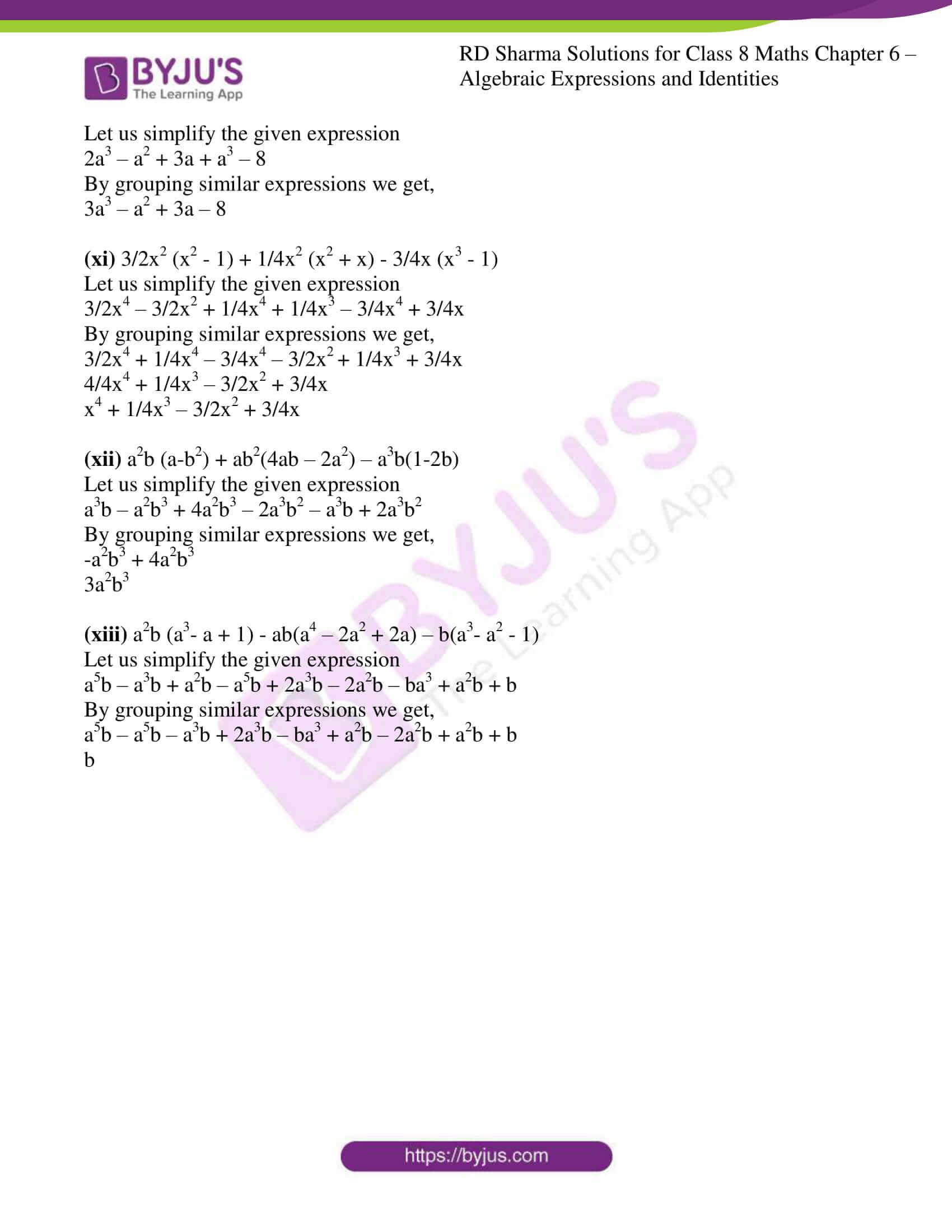 rd sharma class 8 maths chapter 6 exercise 4 8
