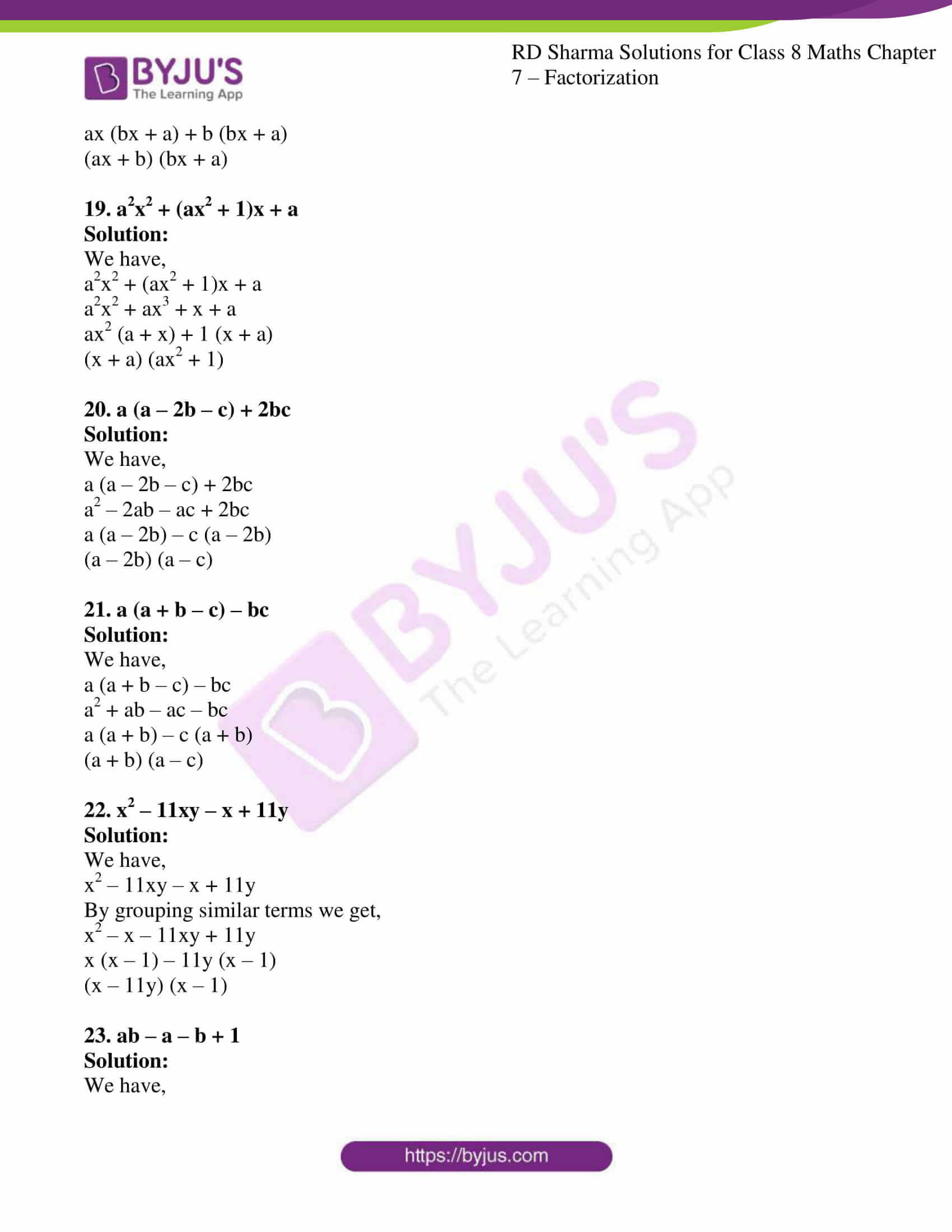 rd sharma class 8 maths chapter 7 exercise 4 5