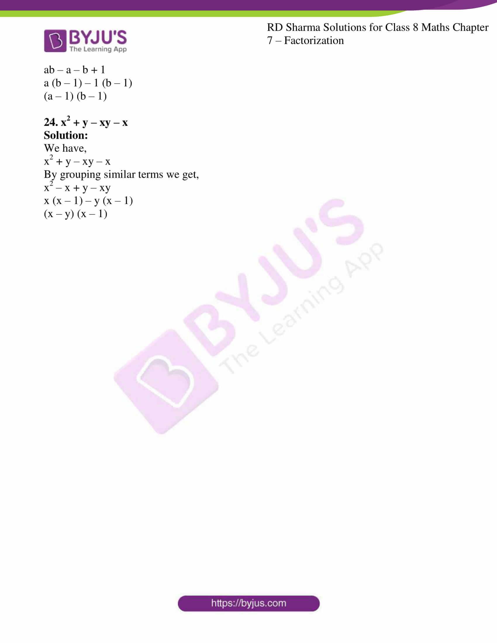 rd sharma class 8 maths chapter 7 exercise 4 6