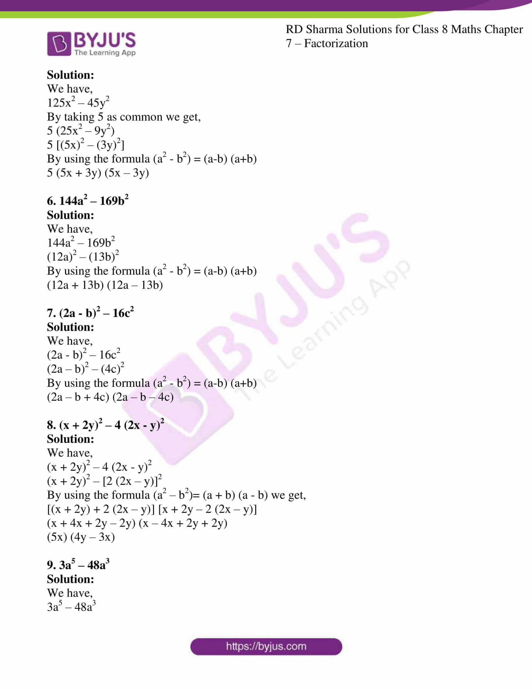 rd sharma class 8 maths chapter 7 exercise 5 02