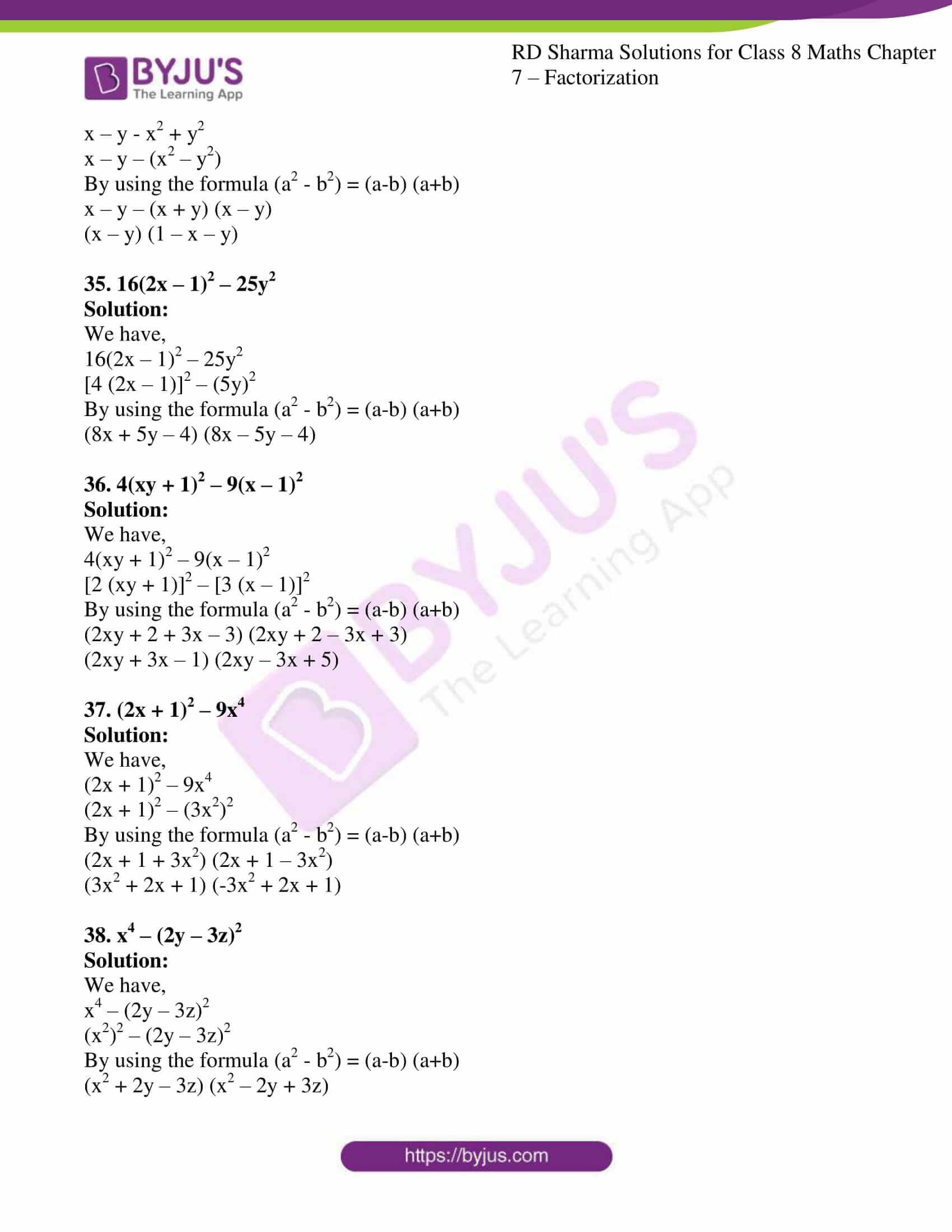 rd sharma class 8 maths chapter 7 exercise 5 09