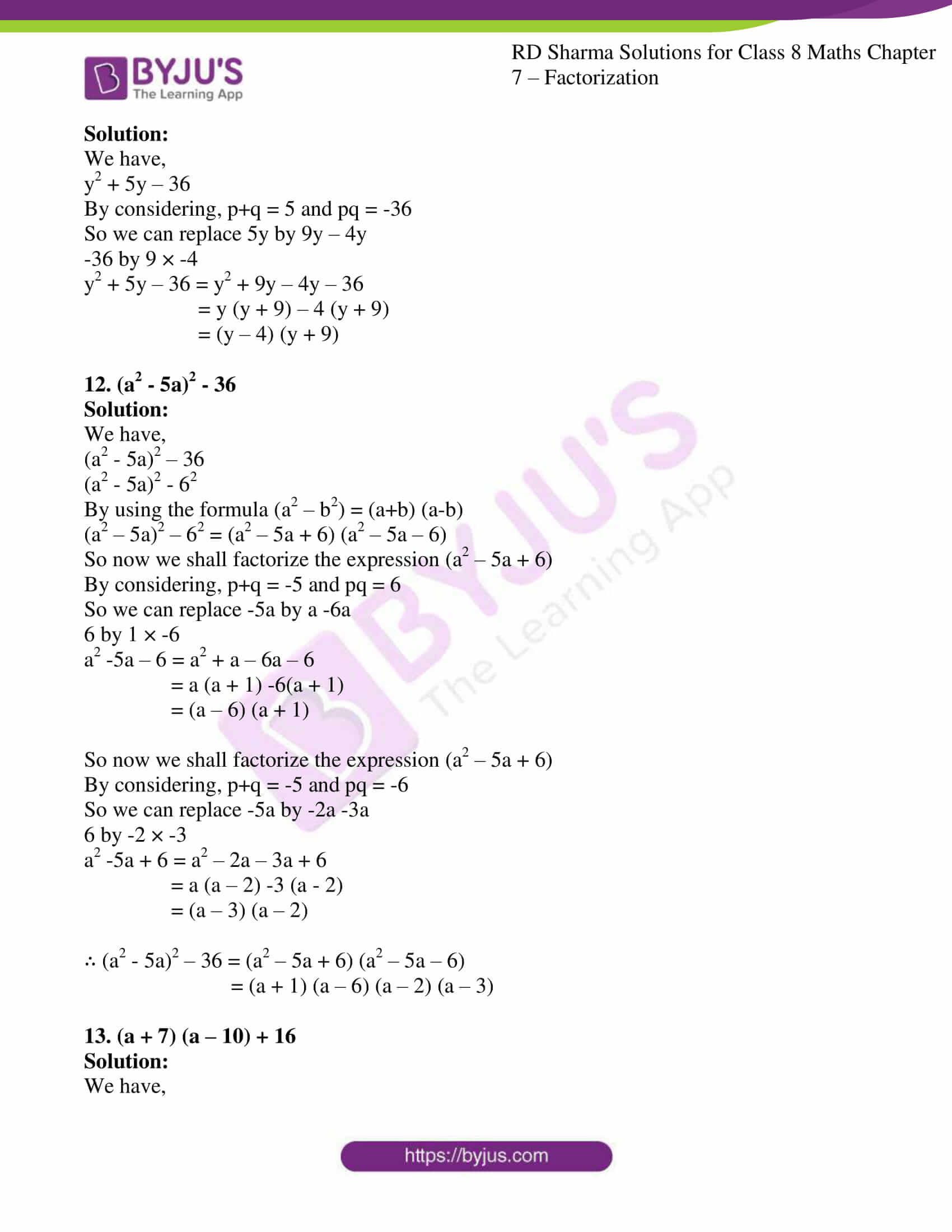 rd sharma class 8 maths chapter 7 exercise 7 4