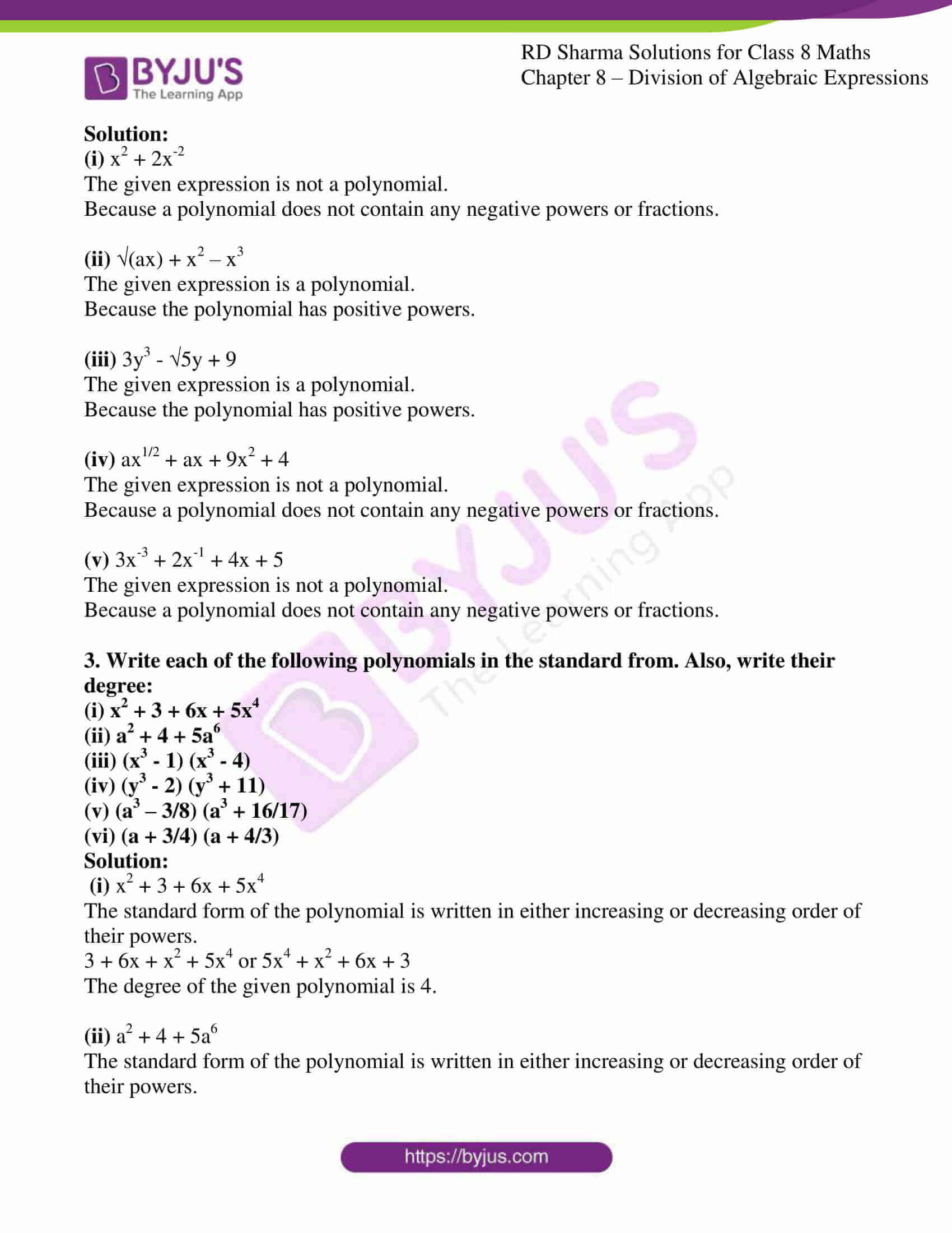 rd sharma class 8 maths chapter 8 exercise 1 2