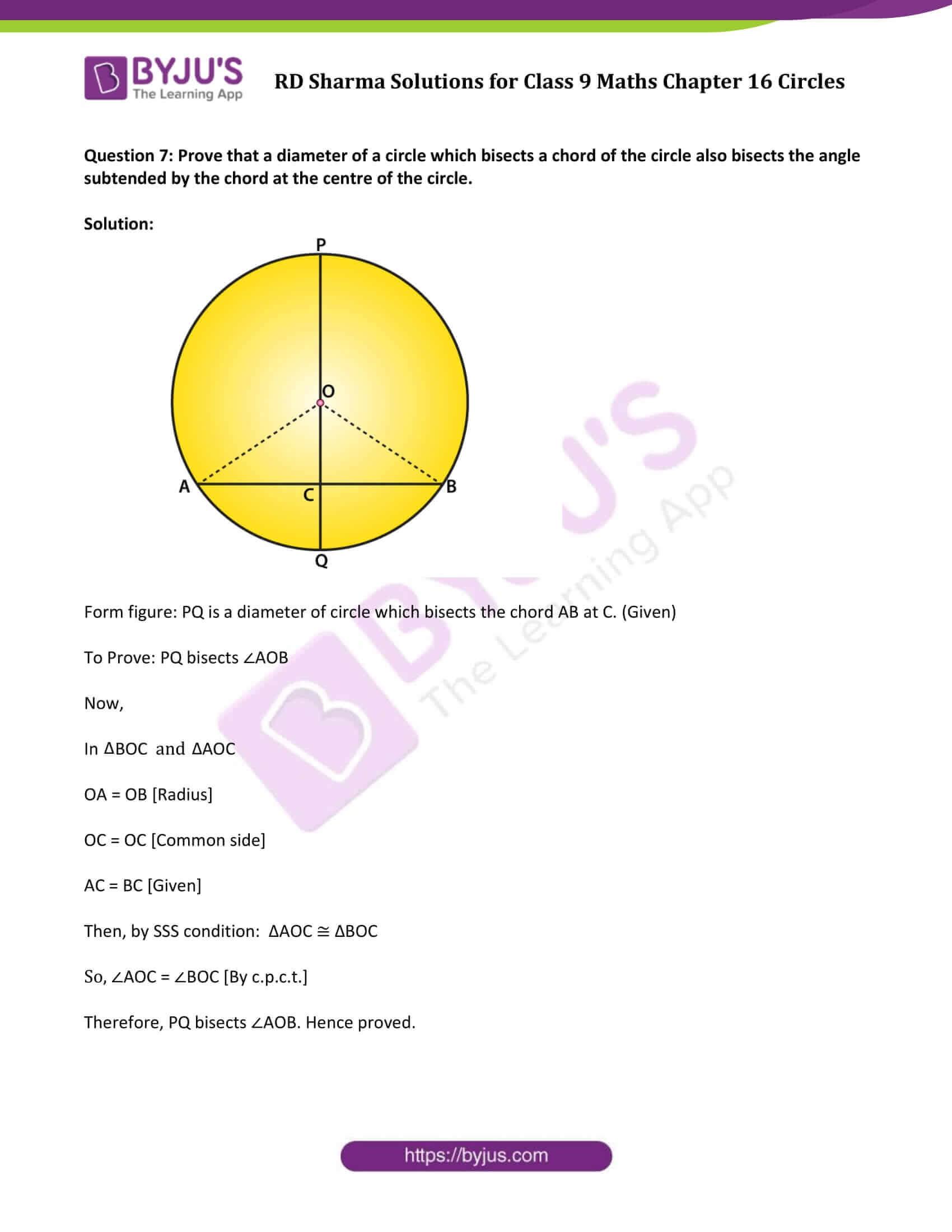 rd sharma solution class 9 maths chapter 16