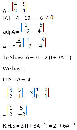 RD Sharma Solutions for Class 12 Maths Chapter 7 Adjoint and Inverse of a Matrix Image 105