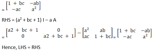 RD Sharma Solutions for Class 12 Maths Chapter 7 Adjoint and Inverse of a Matrix Image 110