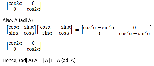 RD Sharma Solutions for Class 12 Maths Chapter 7 Adjoint and Inverse of a Matrix Image 13