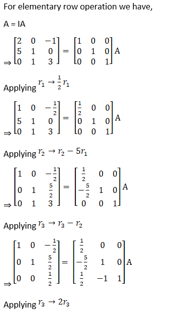 RD Sharma Solutions for Class 12 Maths Chapter 7 Adjoint and Inverse of a Matrix Image 151