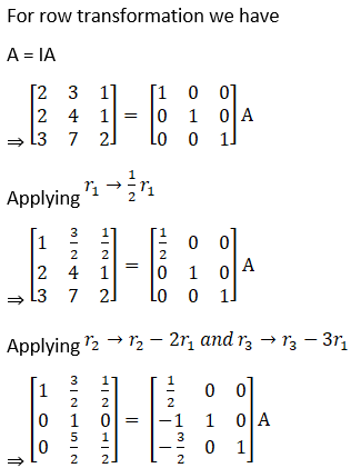 RD Sharma Solutions for Class 12 Maths Chapter 7 Adjoint and Inverse of a Matrix Image 155