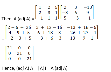 RD Sharma Solutions for Class 12 Maths Chapter 7 Adjoint and Inverse of a Matrix Image 27