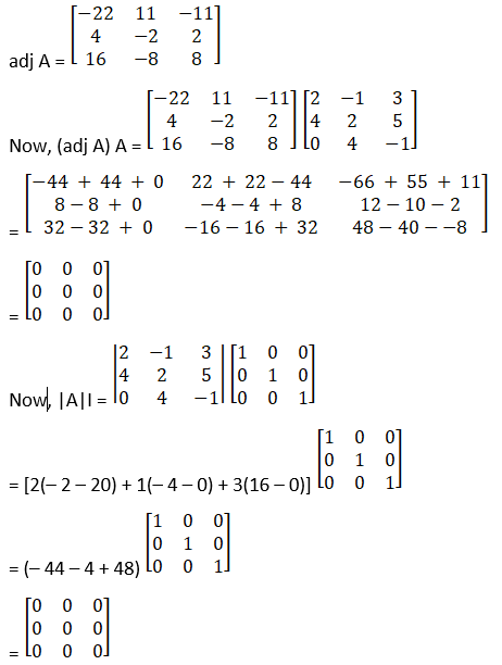 RD Sharma Solutions for Class 12 Maths Chapter 7 Adjoint and Inverse of a Matrix Image 30