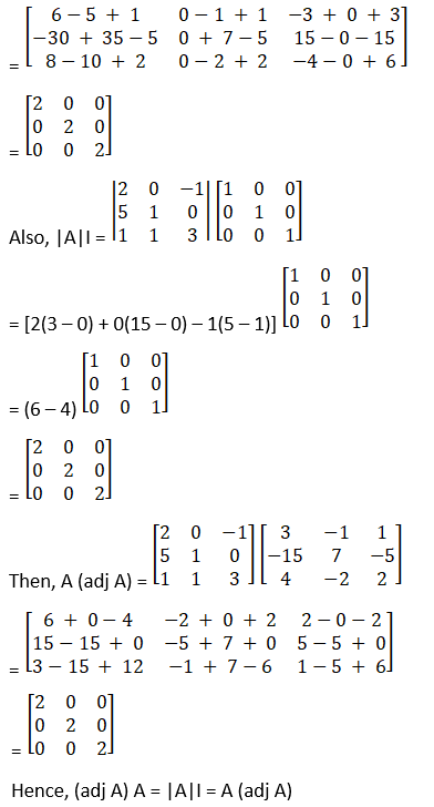 RD Sharma Solutions for Class 12 Maths Chapter 7 Adjoint and Inverse of a Matrix Image 35