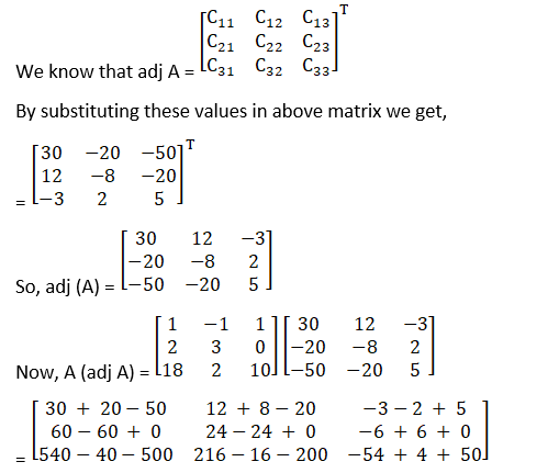 RD Sharma Solutions for Class 12 Maths Chapter 7 Adjoint and Inverse of a Matrix Image 38