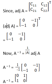 RD Sharma Solutions for Class 12 Maths Chapter 7 Adjoint and Inverse of a Matrix Image 56