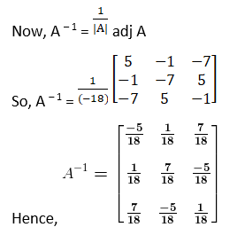 RD Sharma Solutions for Class 12 Maths Chapter 7 Adjoint and Inverse of a Matrix Image 69