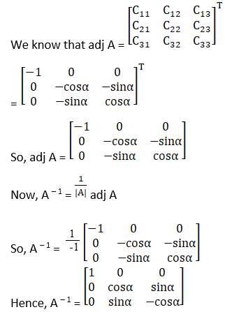 RD Sharma Solutions for Class 12 Maths Chapter 7 Adjoint and Inverse of a Matrix Image 82