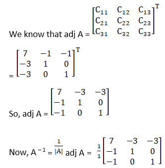 RD Sharma Solutions for Class 12 Maths Chapter 7 Adjoint and Inverse of a Matrix Image 86