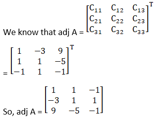 RD Sharma Solutions for Class 12 Maths Chapter 7 Adjoint and Inverse of a Matrix Image 90