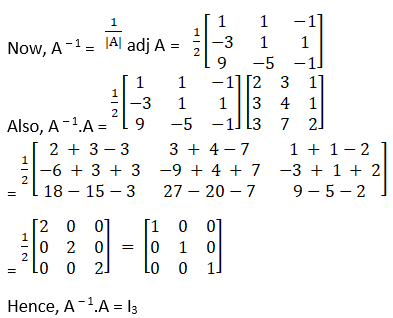 RD Sharma Solutions for Class 12 Maths Chapter 7 Adjoint and Inverse of a Matrix Image 91
