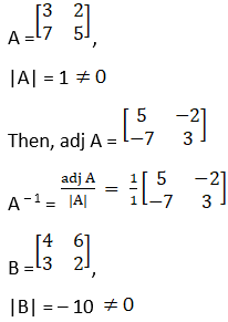 RD Sharma Solutions for Class 12 Maths Chapter 7 Adjoint and Inverse of a Matrix Image 94