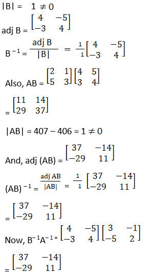 RD Sharma Solutions for Class 12 Maths Chapter 7 Adjoint and Inverse of a Matrix Image 97