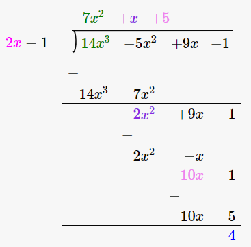 RD Sharma Solutions for Class 8 Maths Chapter 8 – Division of Algebraic Expressions image- 12