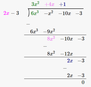 RD Sharma Solutions for Class 8 Maths Chapter 8 – Division of Algebraic Expressions image- 13
