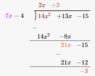RD Sharma Solutions for Class 8 Maths Chapter 8 – Division of Algebraic Expressions image- 17