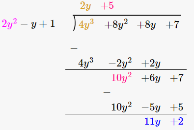 RD Sharma Solutions for Class 8 Maths Chapter 8 – Division of Algebraic Expressions image- 22
