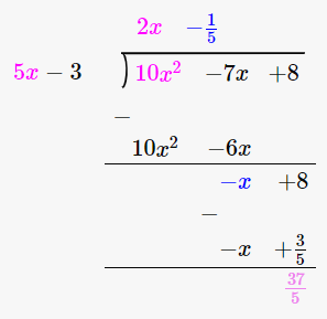 RD Sharma Solutions for Class 8 Maths Chapter 8 – Division of Algebraic Expressions image- 33