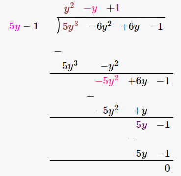RD Sharma Solutions for Class 8 Maths Chapter 8 – Division of Algebraic Expressions image- 34