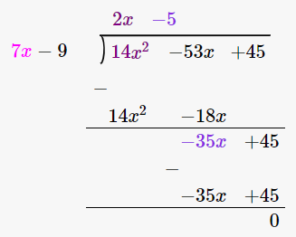 RD Sharma Solutions for Class 8 Maths Chapter 8 – Division of Algebraic Expressions image- 4