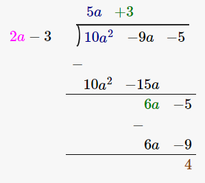 RD Sharma Solutions for Class 8 Maths Chapter 8 – Division of Algebraic Expressions image- 41