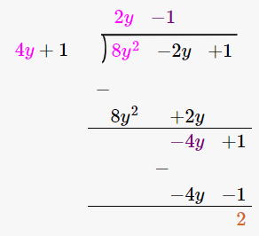 RD Sharma Solutions for Class 8 Maths Chapter 8 – Division of Algebraic Expressions image- 42