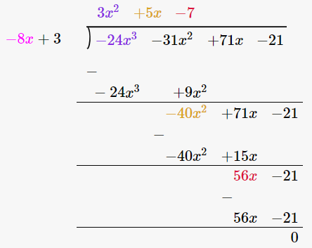 RD Sharma Solutions for Class 8 Maths Chapter 8 – Division of Algebraic Expressions image- 5
