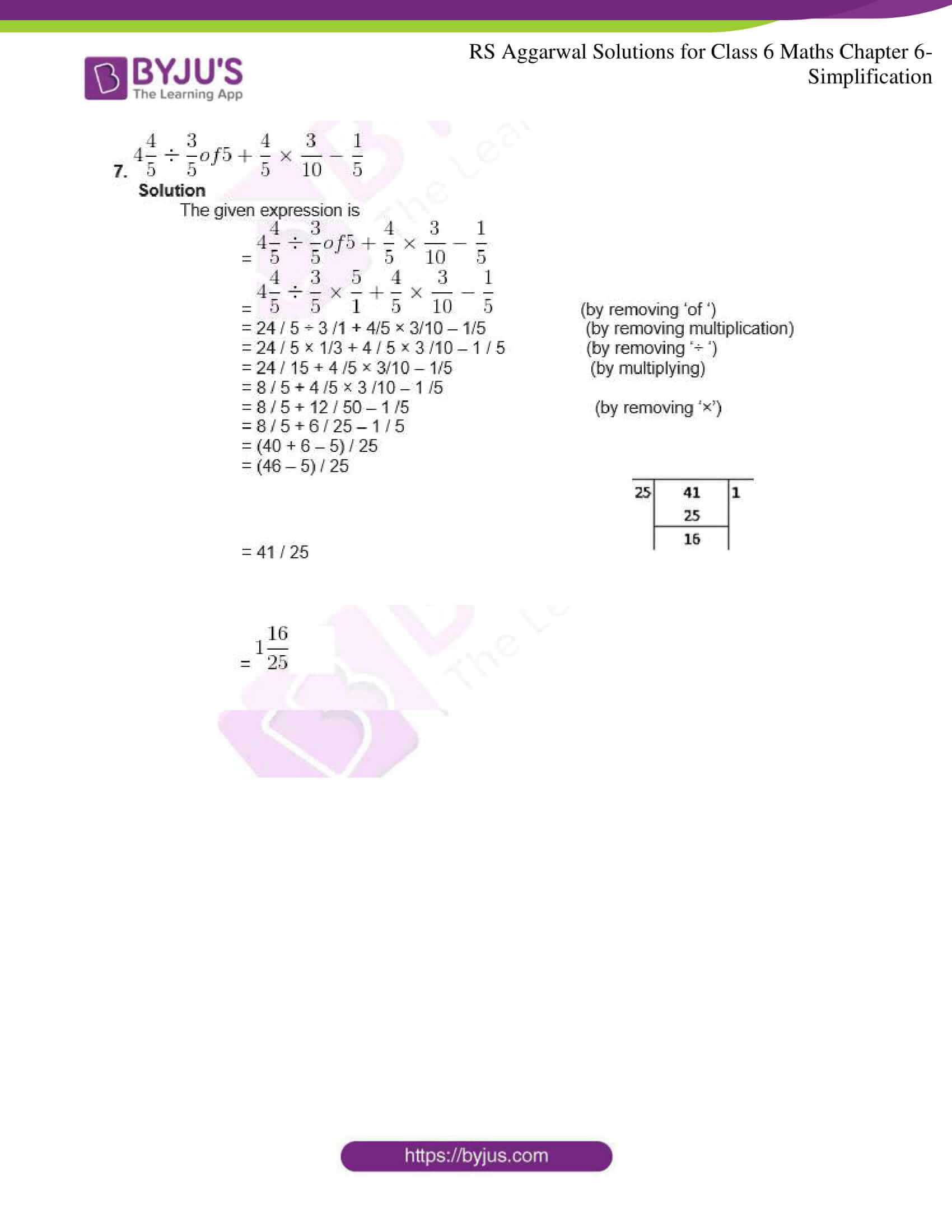 rs aggarwal solutions for class 6 maths chapter 6 3