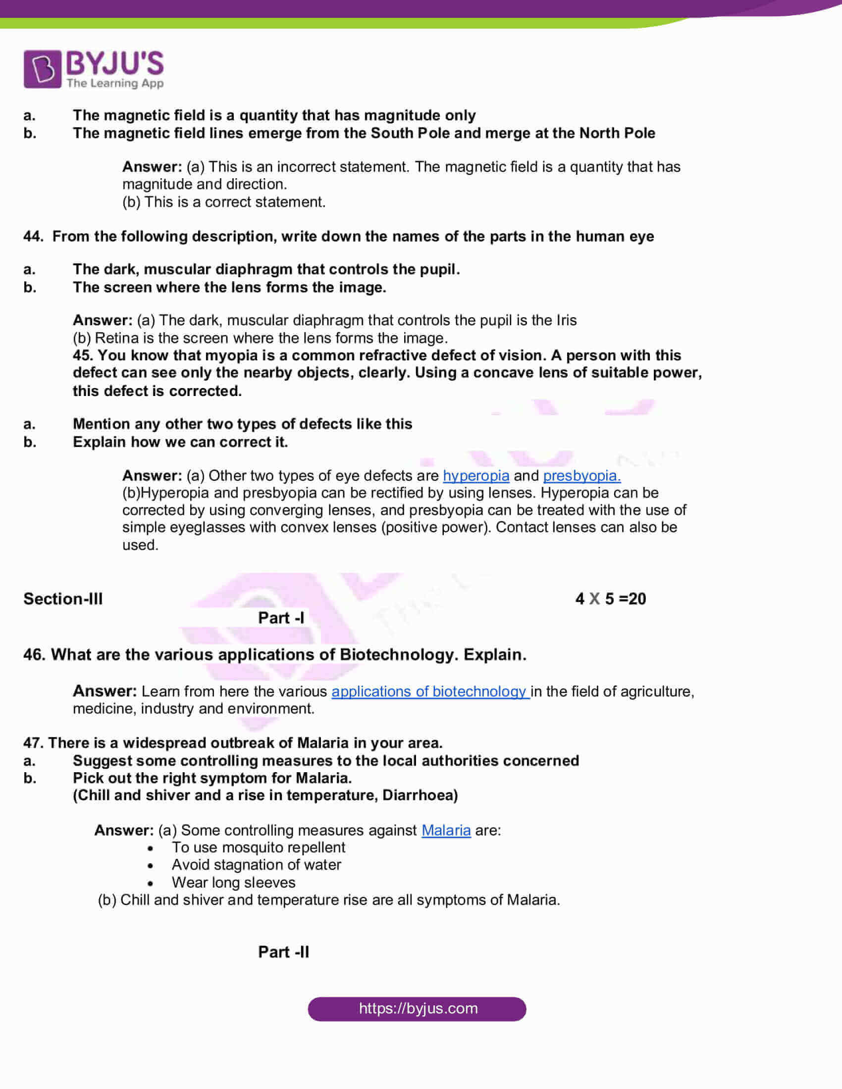 tn board class 10 science 2015 question and solutions 11